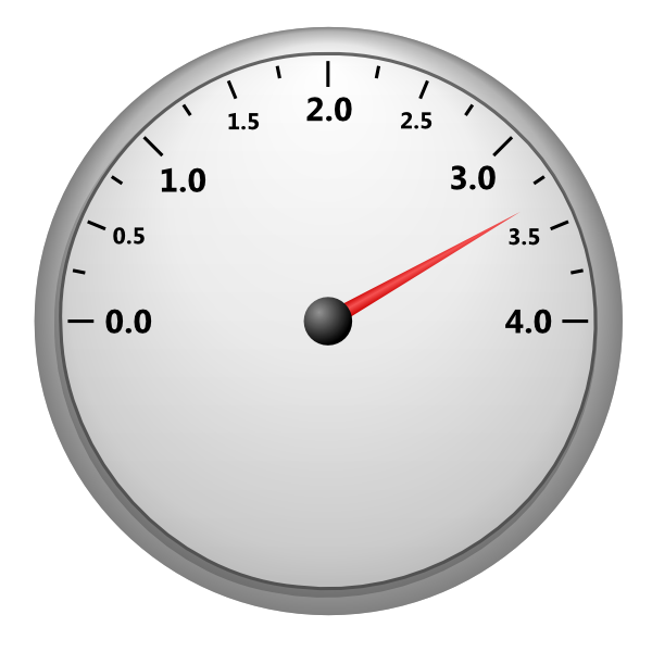 Car speedometer clipart picture royalty free download Speedometer 4 Clip Art at Clker.com - vector clip art online ... picture royalty free download
