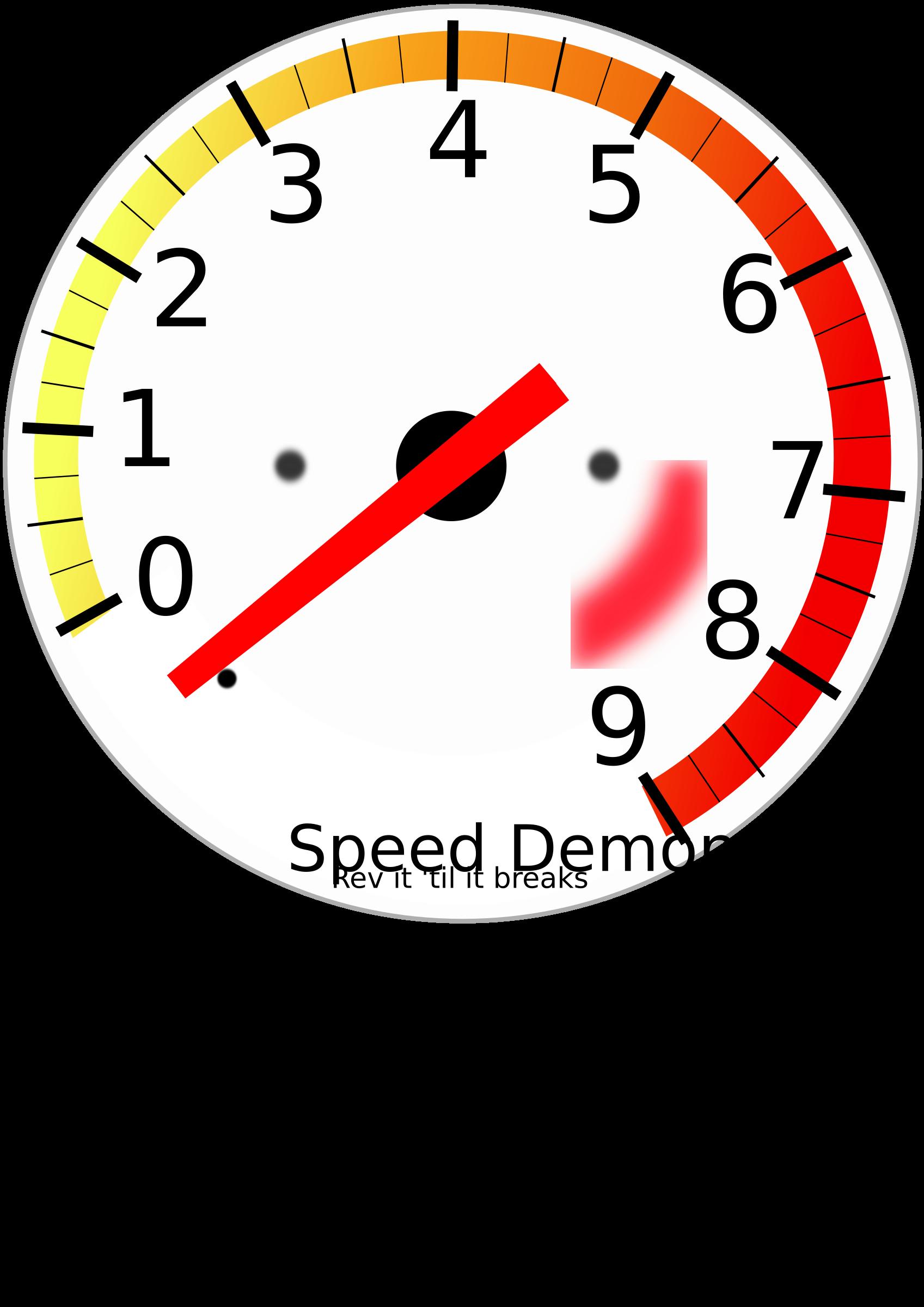 Car gauge clipart jpg royalty free stock Clipart - Tachometer jpg royalty free stock