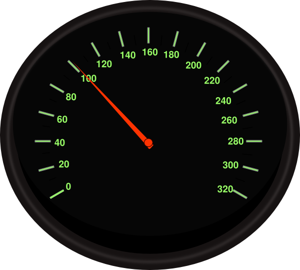 Car speedometer clipart vector transparent Speedometer 8 Clip Art at Clker.com - vector clip art online ... vector transparent