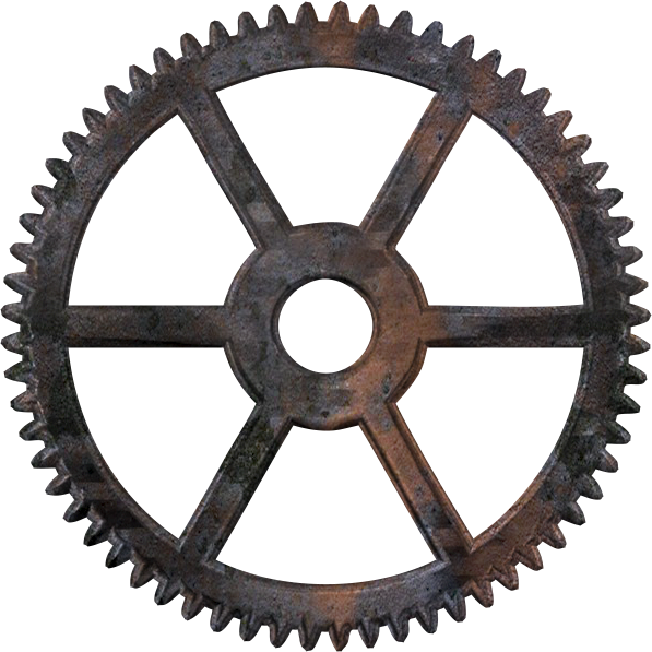 rouage1_1.png | Clipart Boy | Pinterest | Steampunk gears, Cd crafts ... picture black and white download