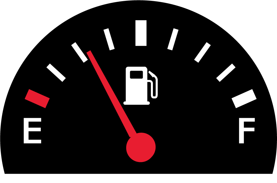 Car gauge clipart clipart black and white stock Why is precise fuel measurement important? - JumpDrive | JumpDrive clipart black and white stock