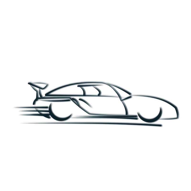 Car going fast clipart image transparent Clipart - car icon image transparent