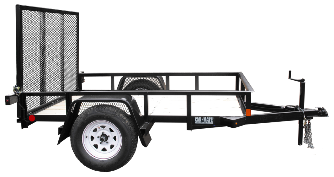 Car hauler clipart graphic royalty free library Angle Iron - Single Axle - Car Mate Trailers, Inc graphic royalty free library