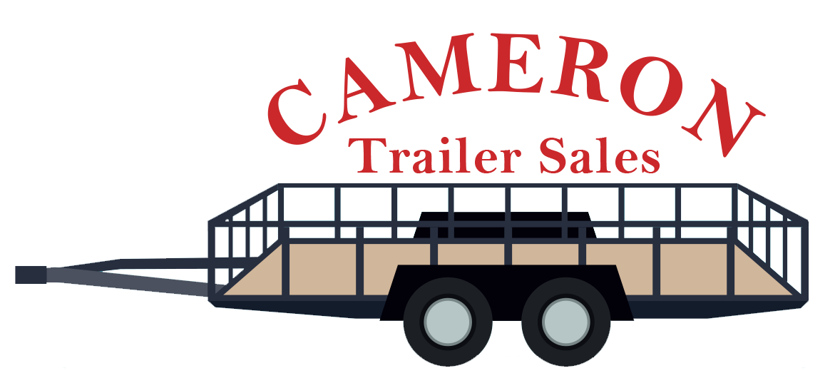 Flatbed train car clipart banner black and white download Car and Equipment Haulers – Cameron Trailer Sales banner black and white download