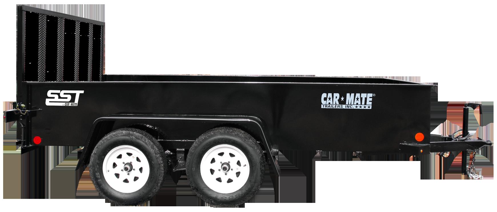 Car hauler trailer clipart picture transparent SST - Tandem Axle - Car Mate Trailers, Inc picture transparent