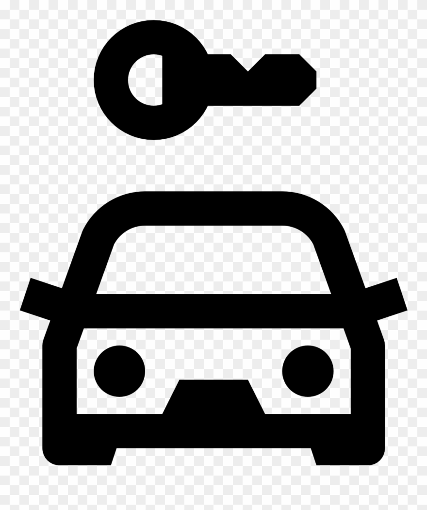 Car hire clipart graphic free Car Rental Icon - Rent Car Icon Clipart (#454256) - PinClipart graphic free