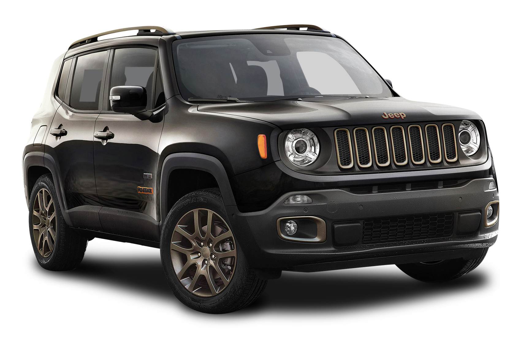 Car hood clipart jpg royalty free download Black Jeep Renegade Car PNG Image - PurePNG | Free transparent CC0 ... jpg royalty free download