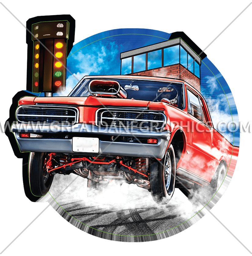 Car hop clipart vector freeuse Muscle Car Hop | Production Ready Artwork for T-Shirt Printing vector freeuse