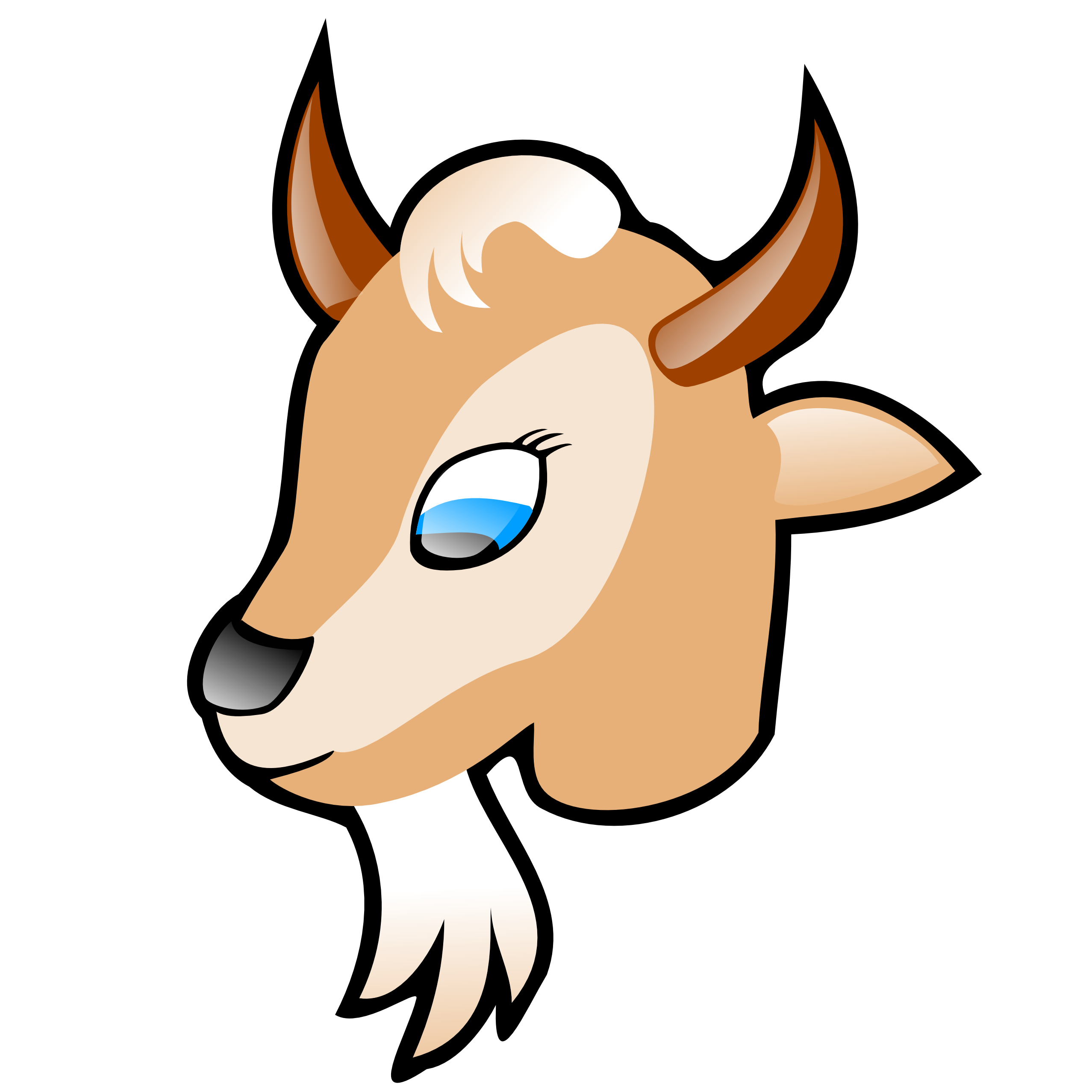 Car horn clipart graphic transparent library Billy Goat Clipart | Free download best Billy Goat Clipart on ... graphic transparent library