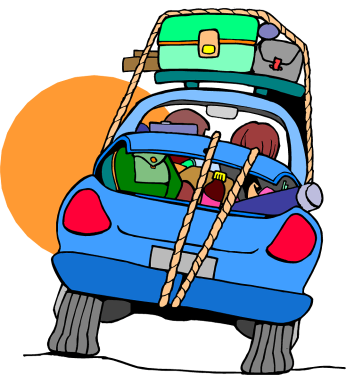 Car horn clipart png royalty free download A family in a car traveling clipart - Hanslodge Cliparts png royalty free download