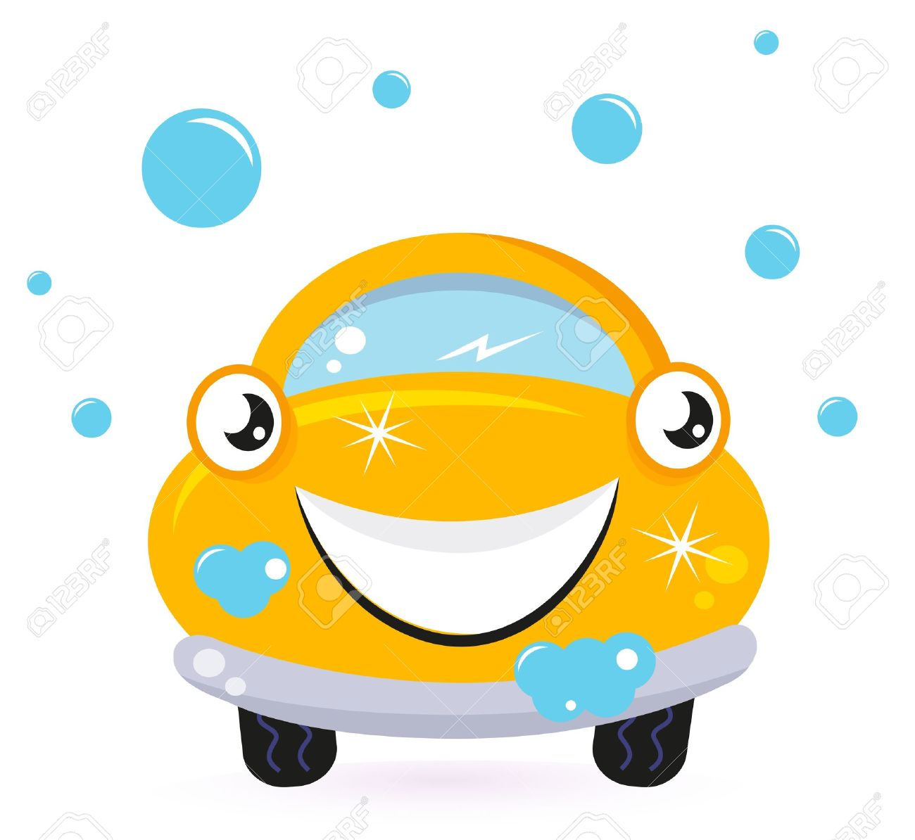 Car in automatic car wash clipart clip art free Car Wash Services, Yellow Cartoon Auto. Vector Royalty Free ... clip art free