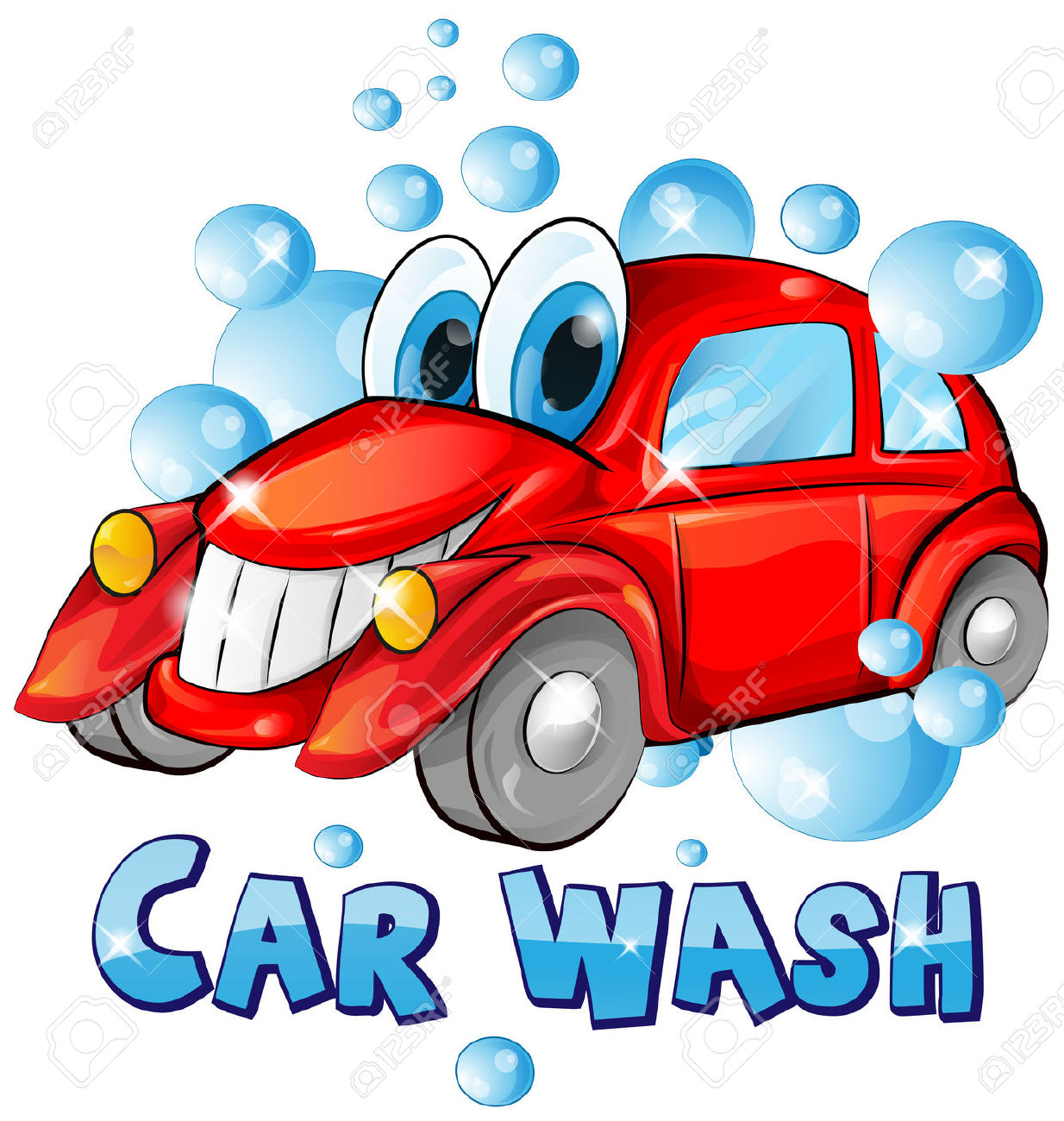 Car in automatic car wash clipart picture freeuse library Car Wash Stock Photos Images. Royalty Free Car Wash Images And ... picture freeuse library