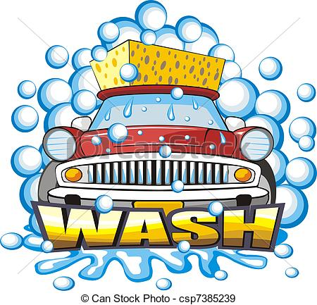 Car in automatic car wash clipart image freeuse Car Wash Clip Art & Car Wash Clip Art Clip Art Images - ClipartALL.com image freeuse
