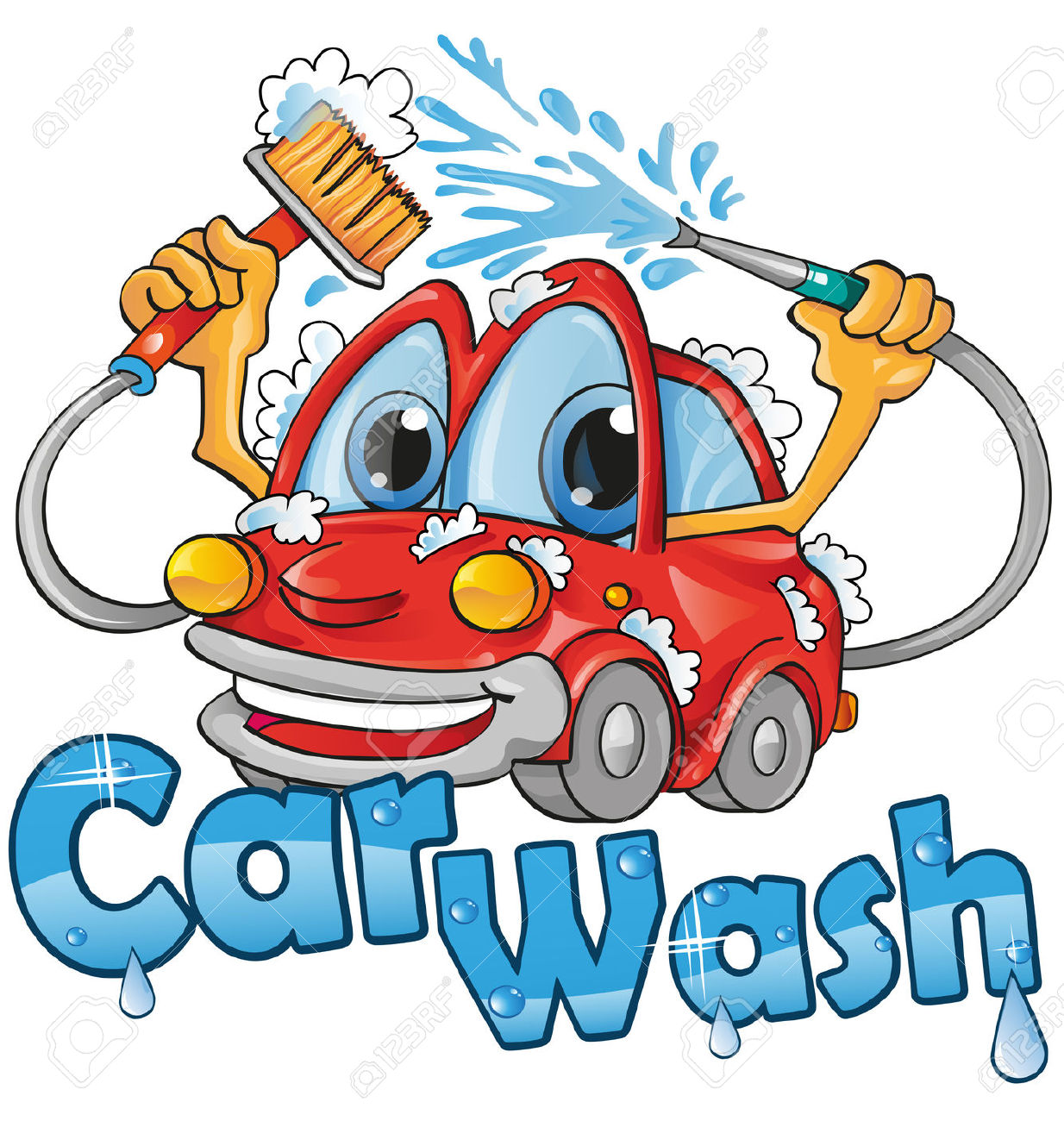 Car in automatic car wash clipart image transparent stock Clipart car wash free - ClipartFest image transparent stock