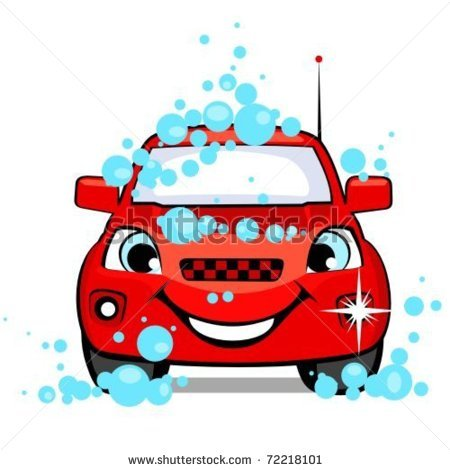 Car in automatic car wash clipart vector royalty free Car Wash Clipart - Clipart Kid vector royalty free