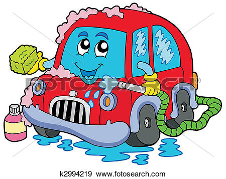 Car in automatic car wash track clipart jpg library download Car wash Stock Photo Images. 9,573 car wash royalty free images ... jpg library download