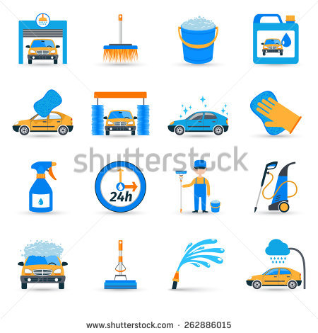 Car in automatic car wash track clipart clipart royalty free library Car-wash Stock Images, Royalty-Free Images & Vectors | Shutterstock clipart royalty free library