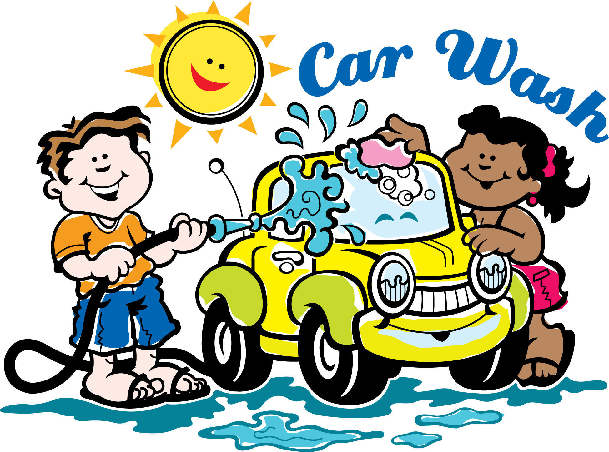 Car in car wash clipart vector freeuse library Cars Car Wash Clipart - Clipart Kid vector freeuse library