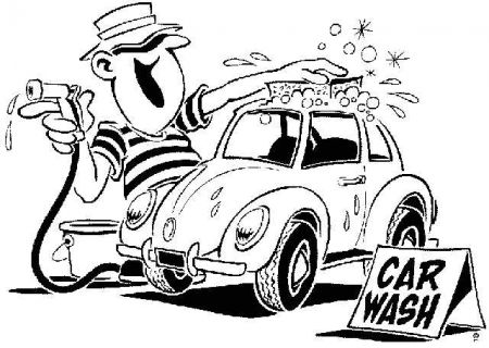 Car in car wash clipart clip art black and white download Car Wash Clipart Joy Studio Design Gallery Best Design - Clipart Kid clip art black and white download