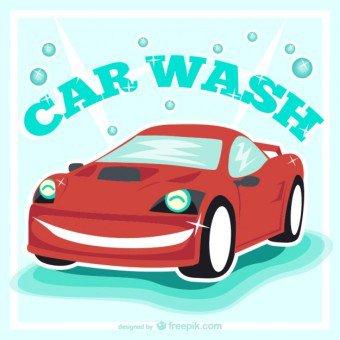 Car in car wash clipart svg royalty free Car wash clip art free - Clipartix svg royalty free