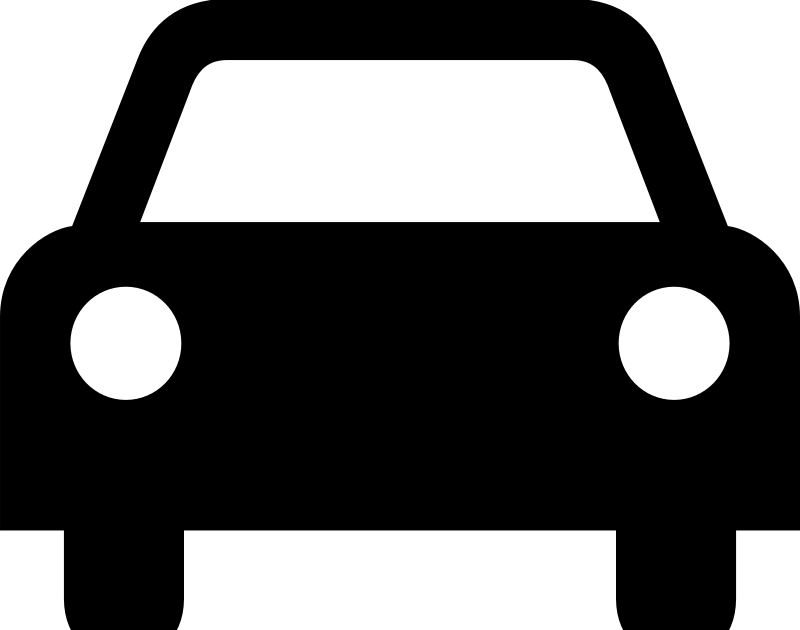 Car in front of house clipart png black and white Car Icon | eSKAY png black and white