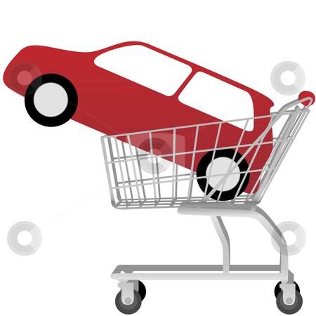 Car in shopping car clipart clip Shopping car clipart - ClipartFest clip