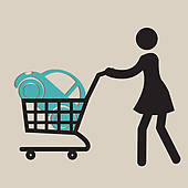 Car in shopping car clipart clipart free library Clip Art of woman buying a car k14568378 - Search Clipart ... clipart free library