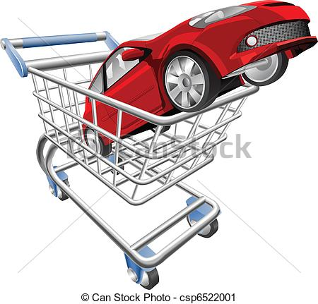 Car in shopping car clipart clip transparent stock Shopping car clipart - ClipartFest clip transparent stock