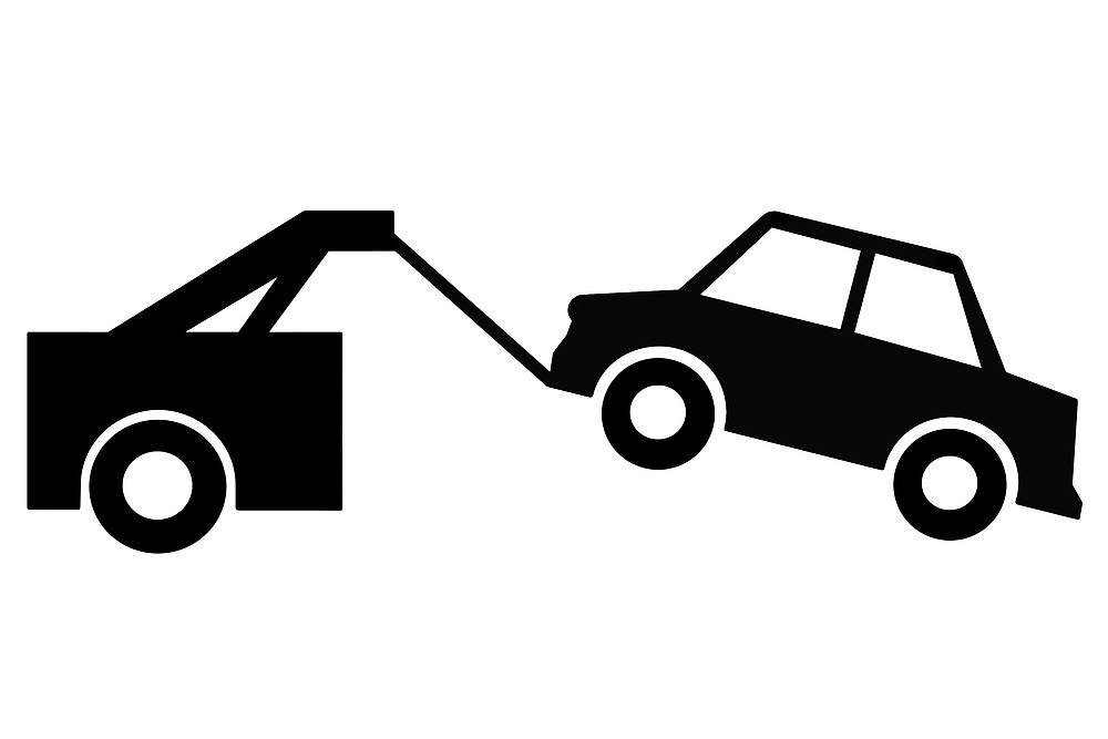 Car in tow car clipart graphic black and white download Car in tow car clipart - ClipartFest graphic black and white download