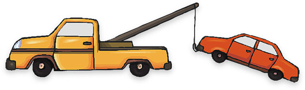 Free auto animated gifs. Car in tow car clipart