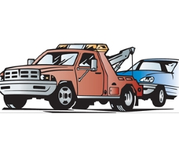 Car in tow car clipart. Collection truck clip art