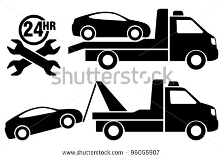 Car in tow car clipart clipart royalty free Towing Clipart - Clipart Kid clipart royalty free