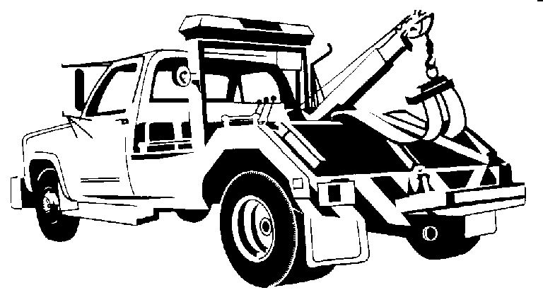 Car in tow car clipart banner black and white download Tow Truck Clipart & Tow Truck Clip Art Images - ClipartALL.com banner black and white download