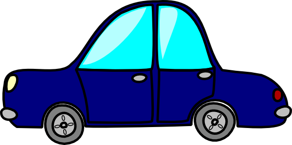 Car in tow car clipart clipart transparent library Blue Toy Car Clipart - Clipart Kid clipart transparent library