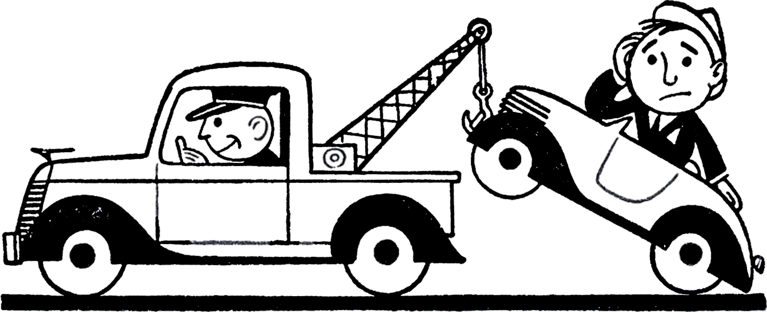 Clipartfest trouble clip art. Car in tow car clipart