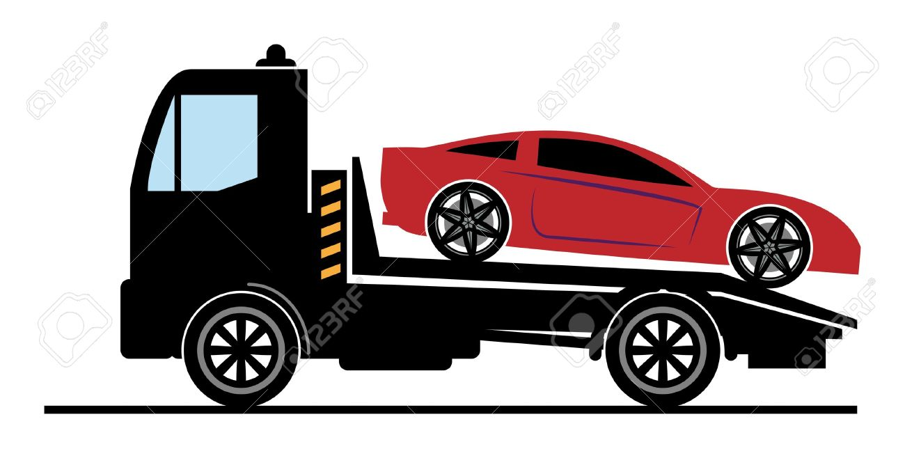 Towing free download. Car in tow car clipart