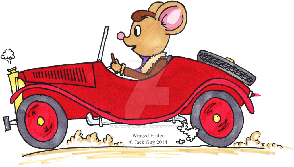 A mouse driving a car by flamingeyeball on DeviantArt clip library download