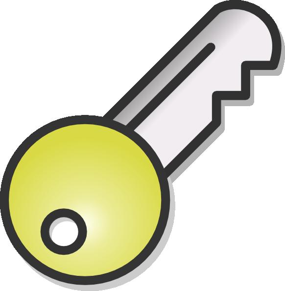 Free clipart of car keys image transparent library Key Clip Art at Clker.com - vector clip art online, royalty free ... image transparent library