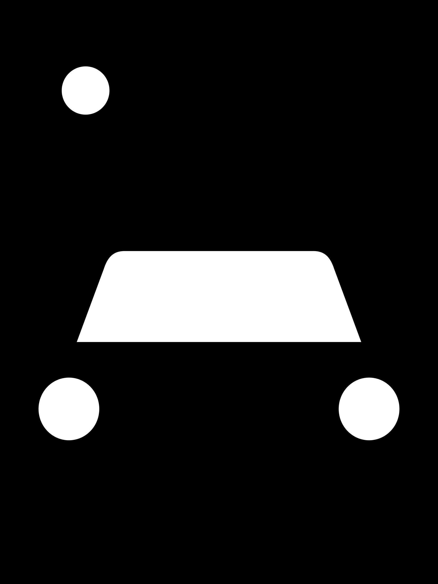 Car sign clipart jpg black and white Clipart - aiga car rental jpg black and white