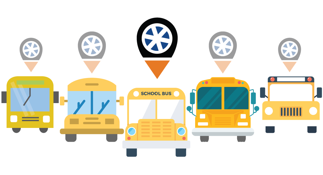 Car leaving clipart picture stock Trackolap | School Bus Tracking picture stock