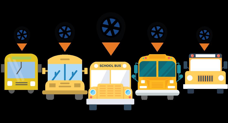 Car school pick up clipart clipart free library Trackolap | School Bus Tracking clipart free library
