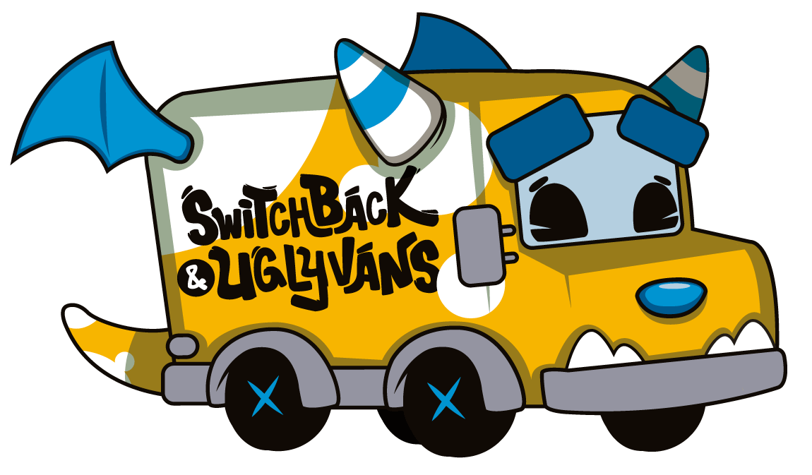 Car with luggage clipart picture royalty free stock Switchback Van, SUV, and Car Rental Company picture royalty free stock