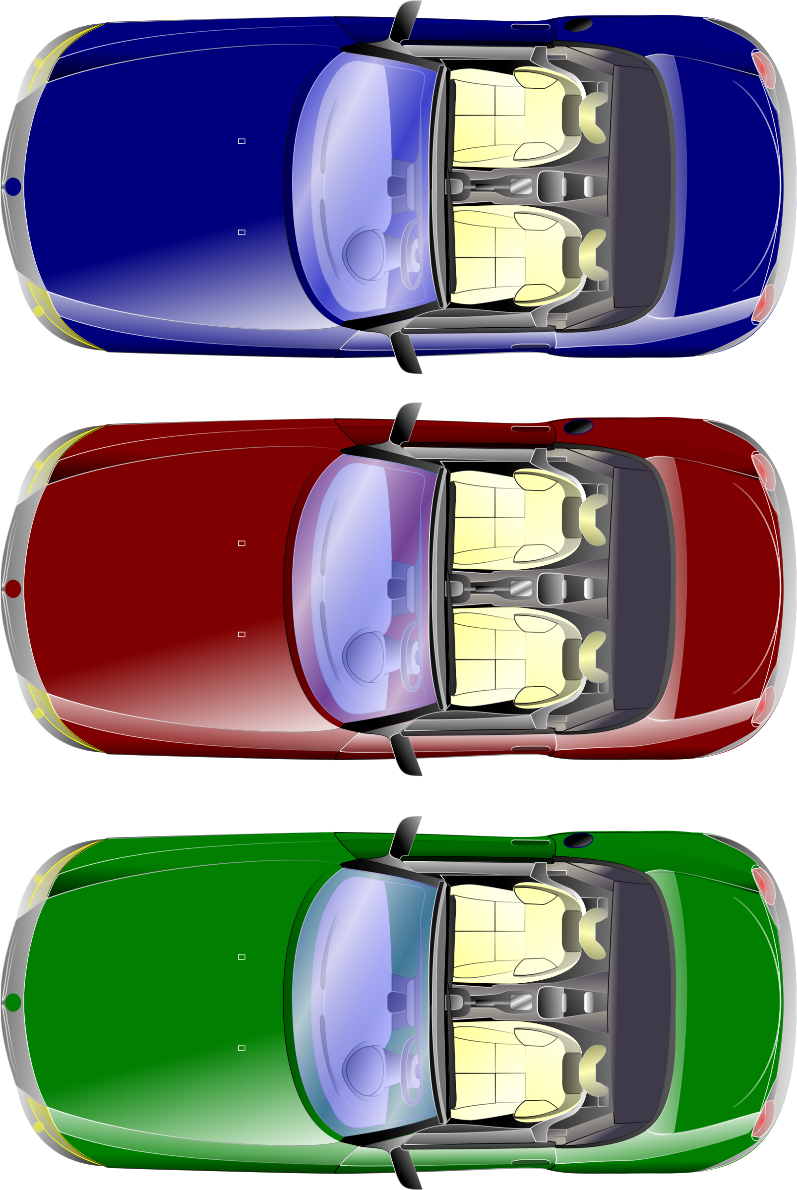 Car tail lights clipart png freeuse library Clipart - car top view png freeuse library