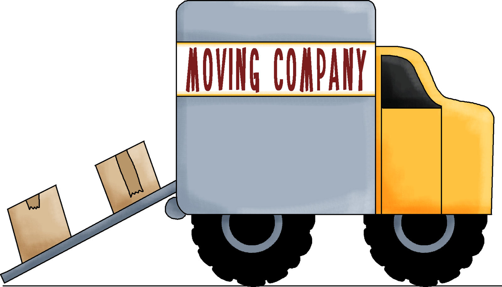 Car moving clipart clip black and white stock Free Who Moved Cliparts, Download Free Clip Art, Free Clip Art on ... clip black and white stock
