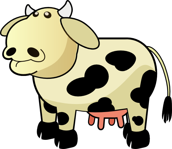 Car moving clipart image black and white library Moving clipart cow ~ Frames ~ Illustrations ~ HD images ~ Photo ... image black and white library