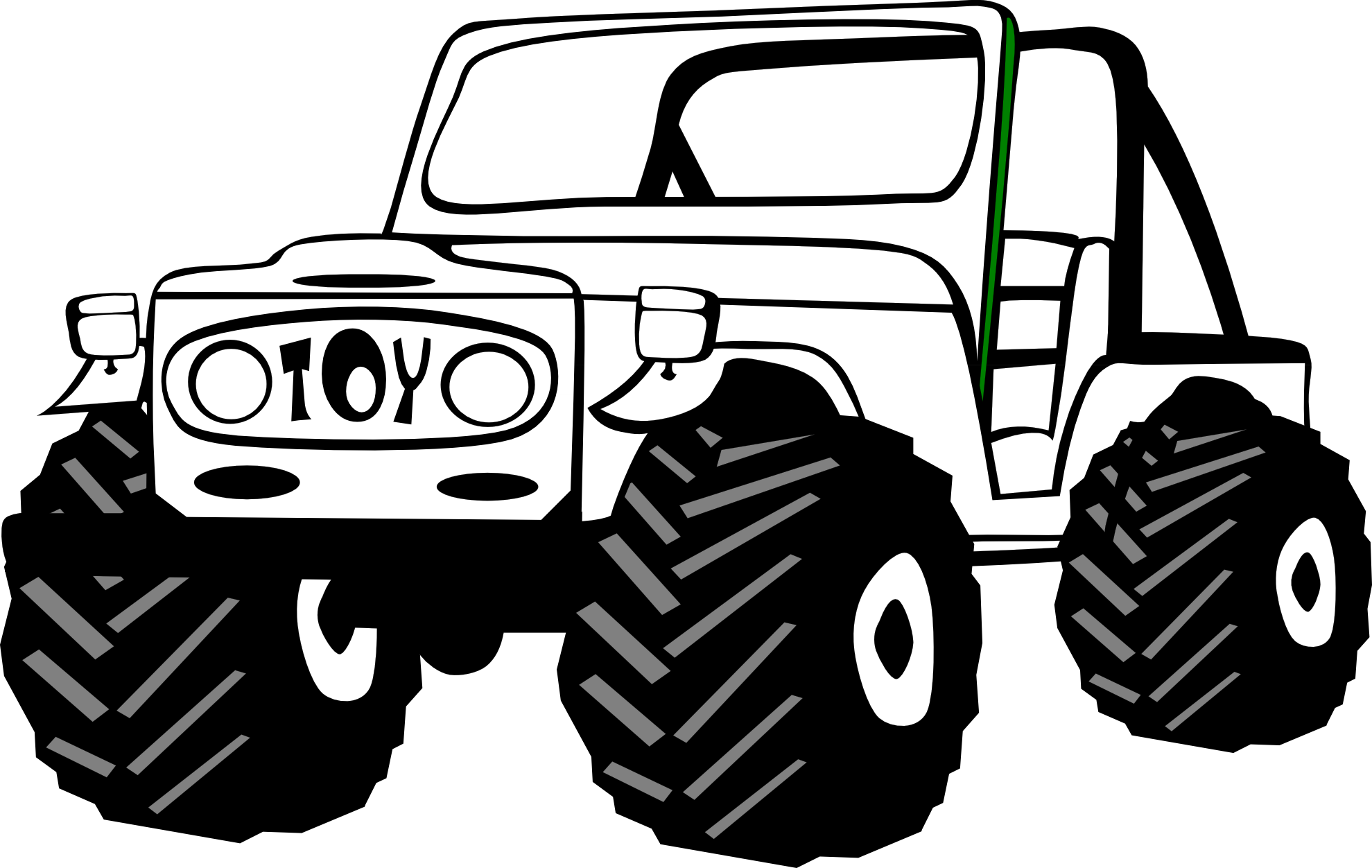 Car on a road clipart clipart transparent download Clipart land cruiser clipart transparent download