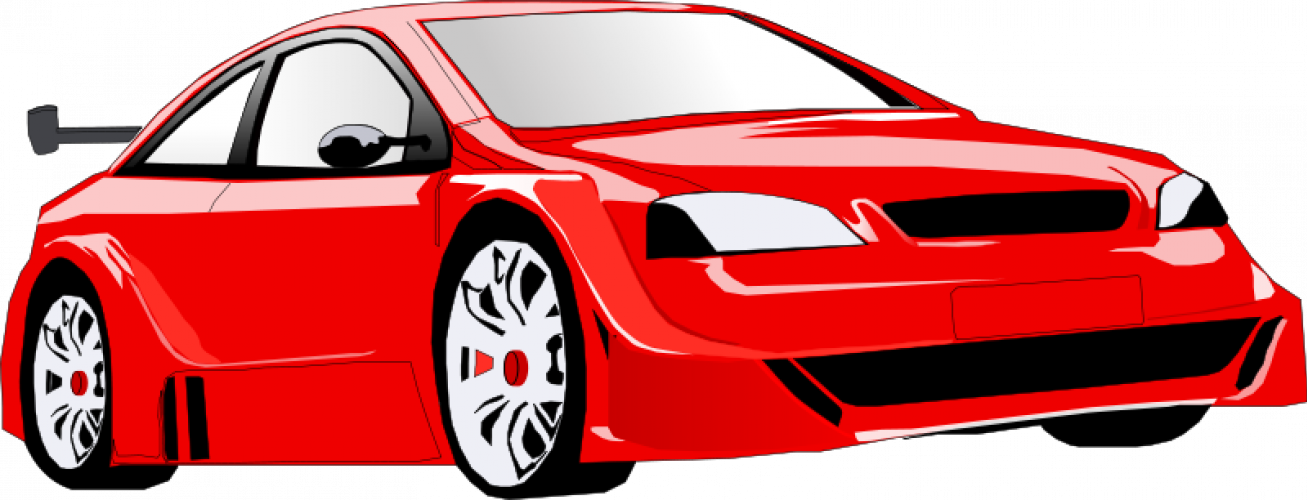 Clipart convertible car clipart royalty free library Racecar driving on road clipart collection clipart royalty free library