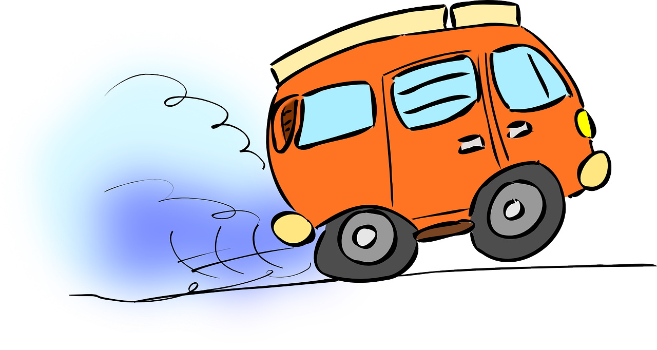Car on fire clipart picture transparent Van Bully Camping Car Funny PNG Image - Picpng picture transparent