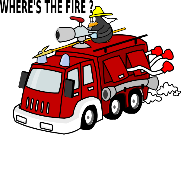 Car on fire clipart picture black and white download Where S The Fire Clip Art at Clker.com - vector clip art online ... picture black and white download