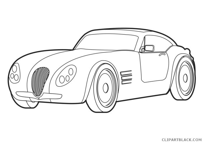 Car outline clipart clip royalty free stock Car Outline Clipart - ClipartBlack.com clip royalty free stock